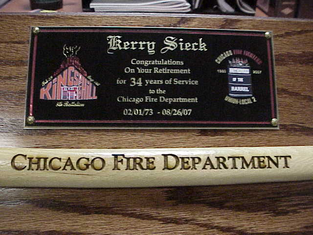 Fire Fighter Awards